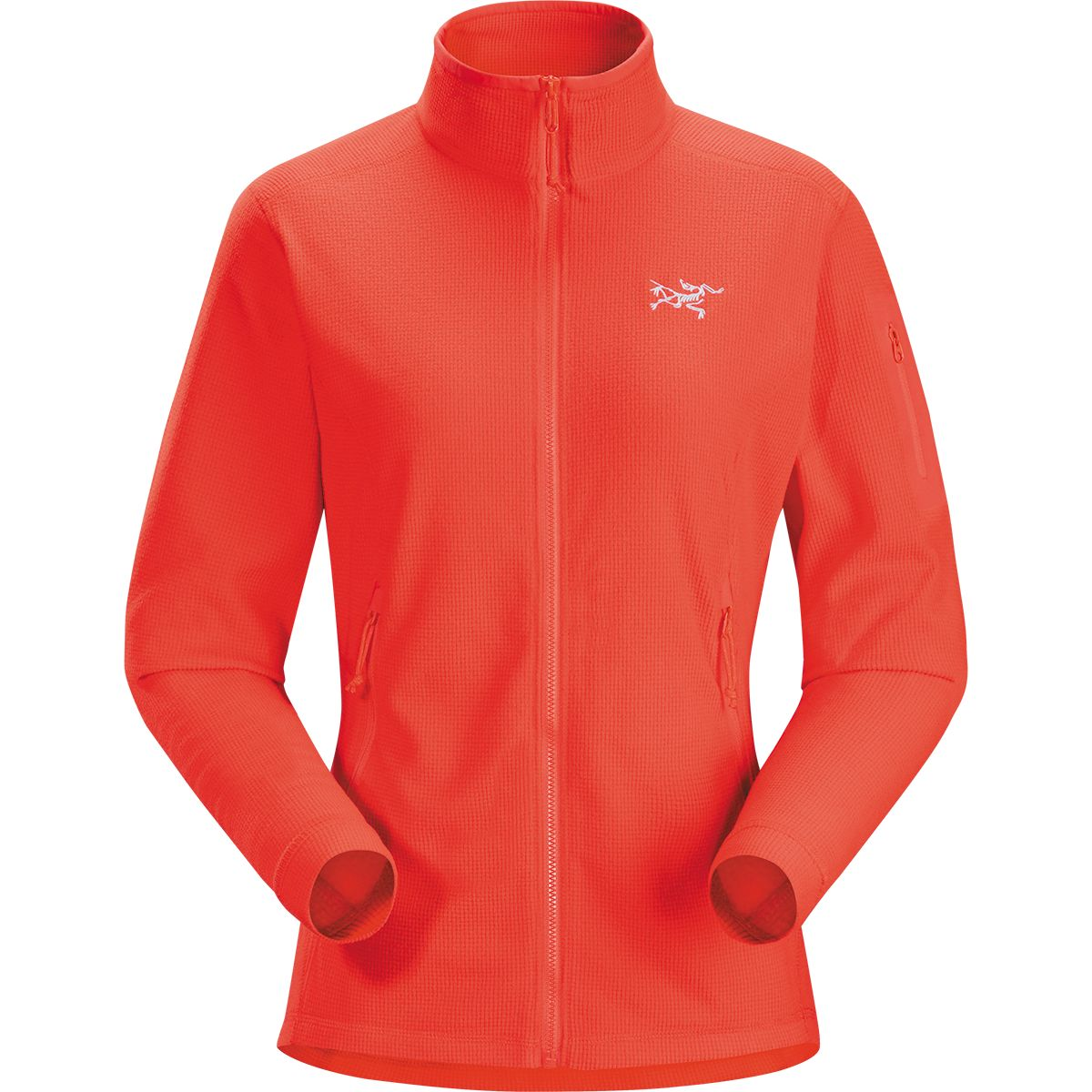 Arcteryx Damen Delta LT Jacke Orange M