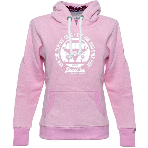 outlet store sale fba05 a7022 Damen Bulli Face Winter Hoodie rosa XS