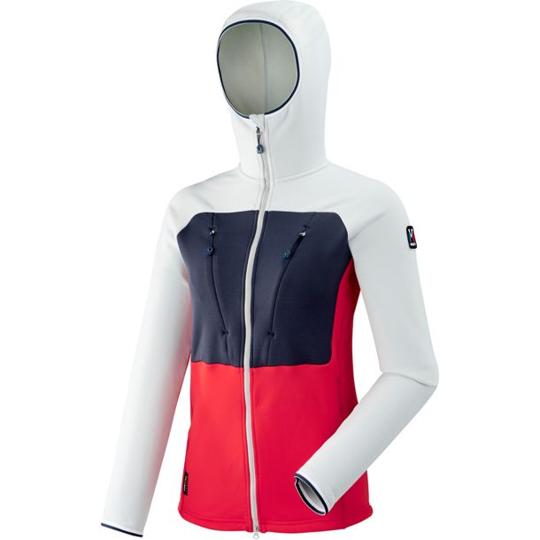 Damen Ld Triology Ultimate Power Hoodie ROUGEDAWN M
